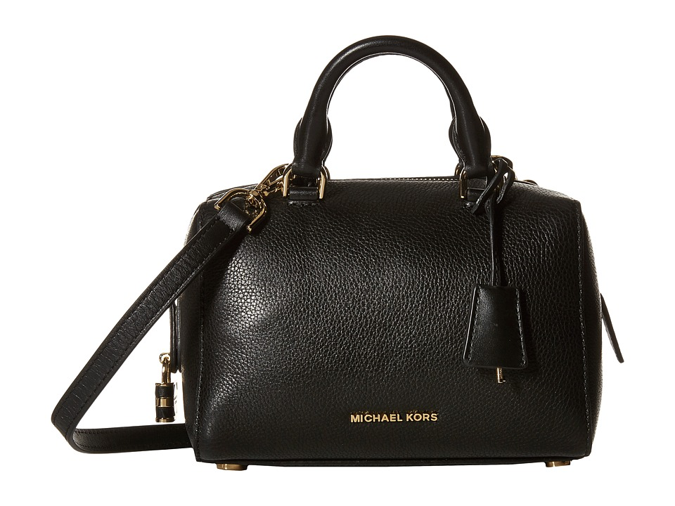 MICHAEL Michael Kors - Kirby Extra Small Satchel (Black) Satchel Handbags