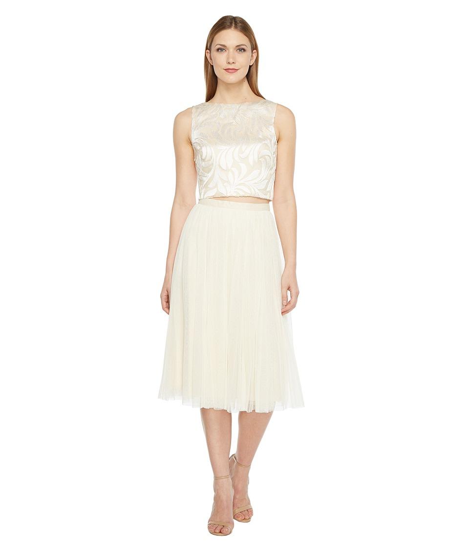Donna Morgan - Delphine Set (Off-White) Women's Dress