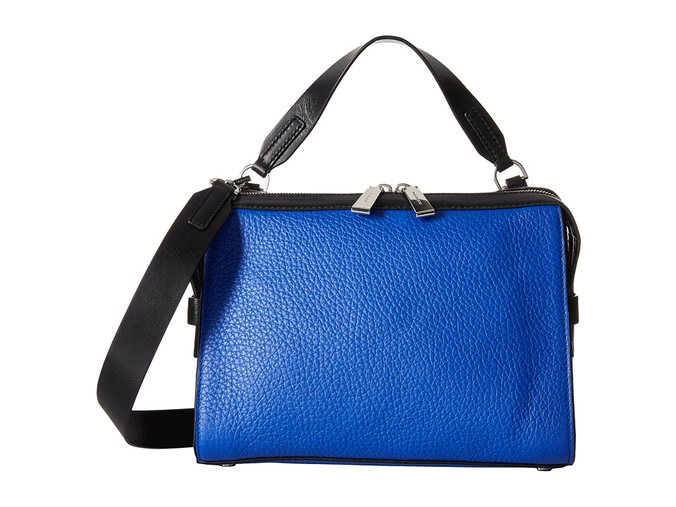 MICHAEL Michael Kors - Ingrid Medium Shoulder (Electric Blue/Black) Shoulder Handbags