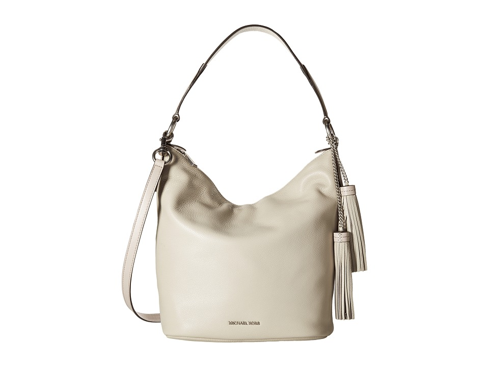 MICHAEL Michael Kors - Elana Large Convertible Shoulder (Cement) Shoulder Handbags