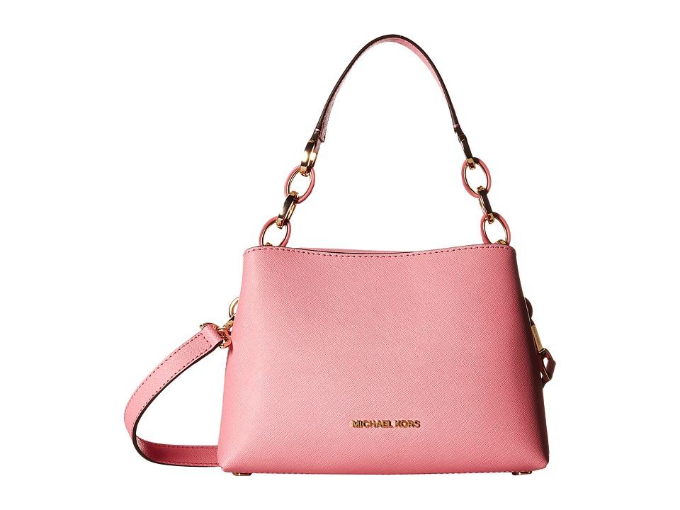MICHAEL Michael Kors - Portia Small East/West Shoulder (Misty Rose) Shoulder Handbags