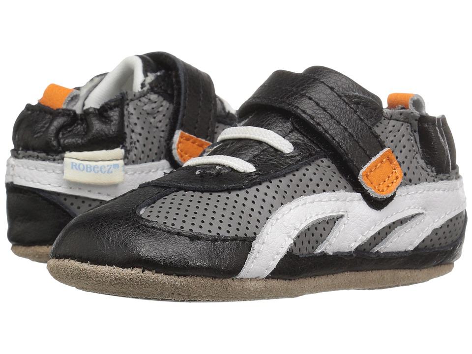 Robeez - Runner Mini Shoez (Infant/Toddler) (Black) Boys Shoes