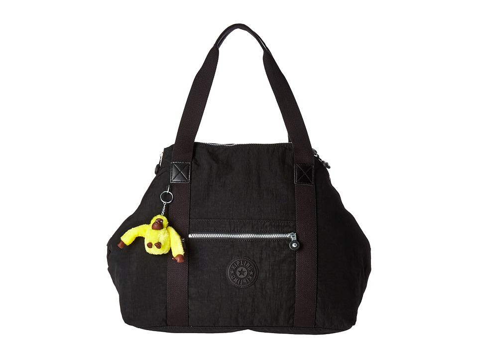 Kipling - Art Large Satchel (Black) Satchel Handbags