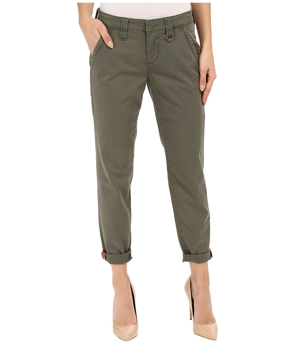 Jag Jeans - Dana Tapered Boyfriend Chino Pant in Bay Twill (Jungle Palm) Women's Casual Pants