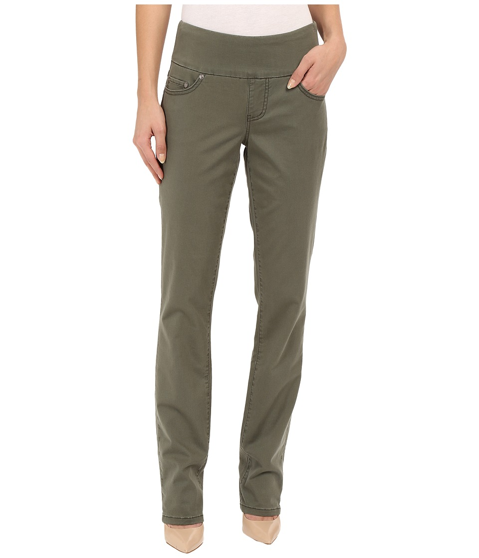 Jag Jeans - Peri Pull-On Straight Bay Twill (Jungle Palm) Women's Casual Pants