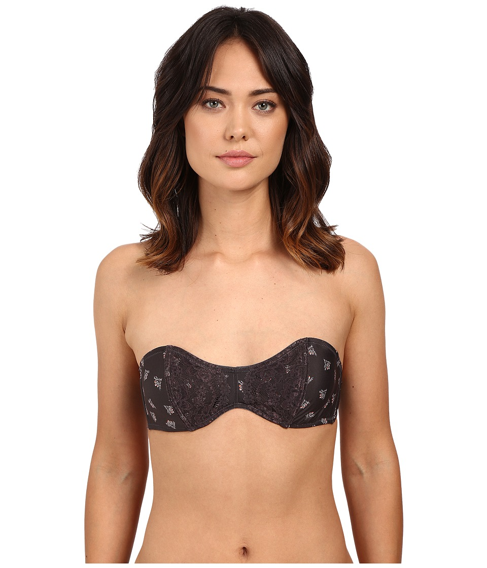 Free People - Sugar Sugar Strapless Bra OB479553 (Charcoal Combo) Women's Bra