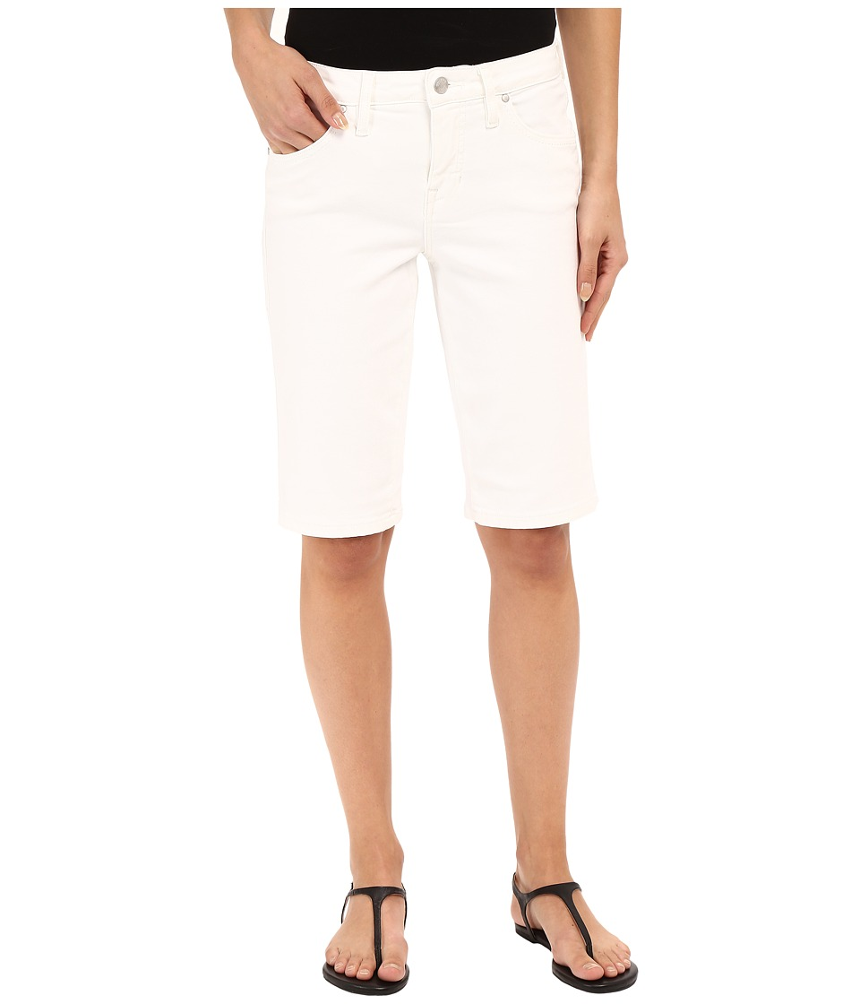 Jag Jeans - Willa Bermuda in Dolce Twill (White) Women's Shorts plus size,  plus size fashion plus size appare