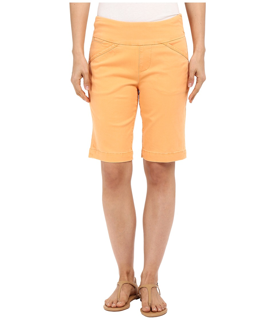 Jag Jeans - Ainsley Bermuda Classic Fit Bay Twill (Citrus Orange) Women's Shorts