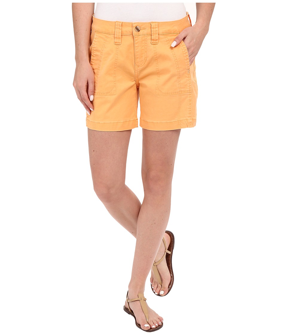 Jag Jeans - Somerset Relaxed Fit Shorts in Bay Twill (Citrus Orange) Women's Shorts
