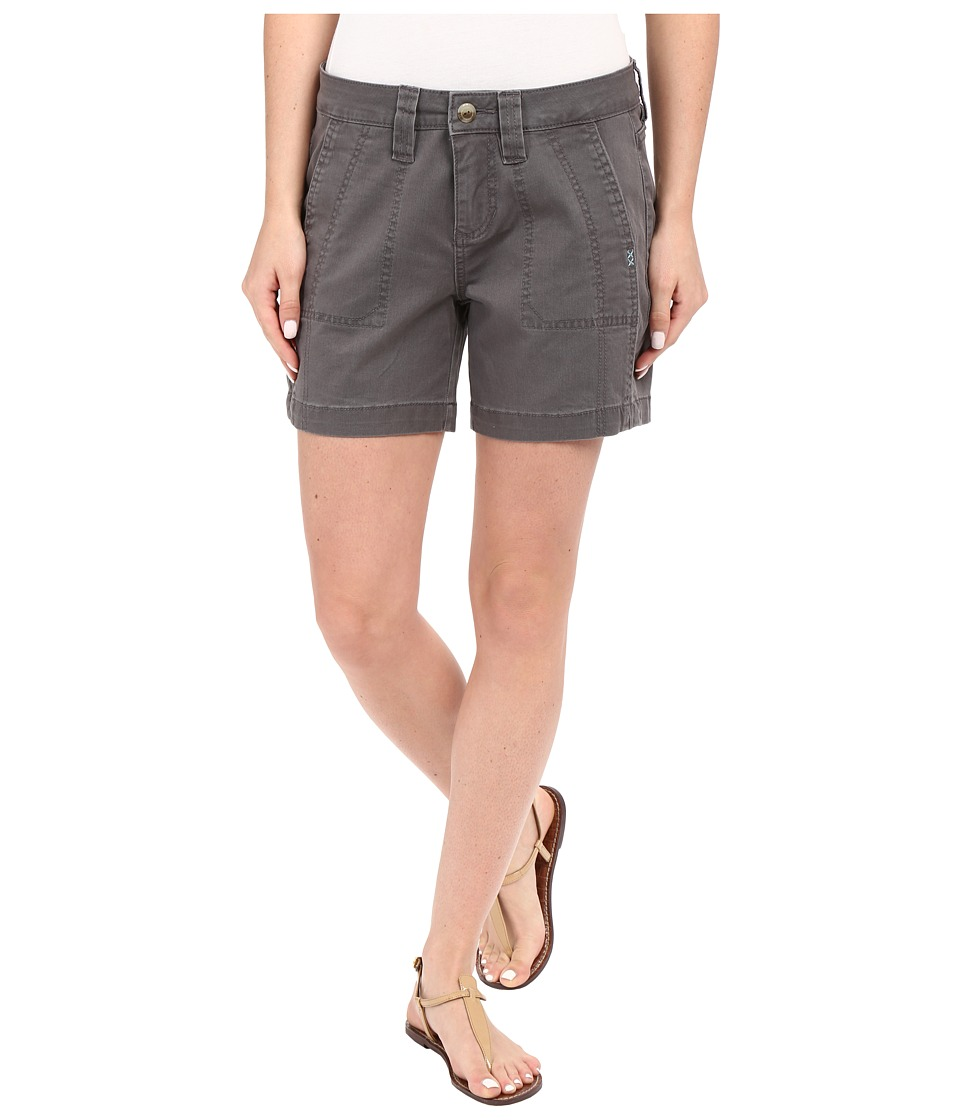 Jag Jeans - Somerset Relaxed Fit Shorts in Bay Twill (Flint) Women's Shorts