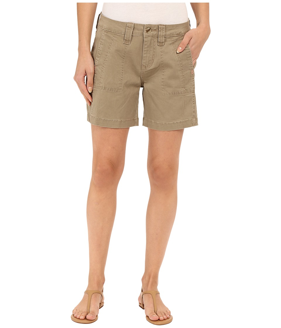 Jag Jeans - Somerset Relaxed Fit Shorts in Bay Twill (Hazelnut) Women's Shorts