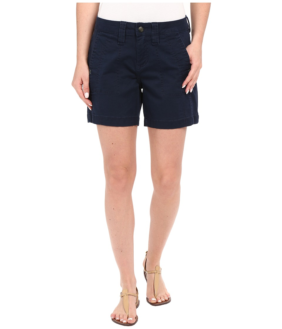 Jag Jeans - Somerset Relaxed Fit Shorts in Bay Twill (Nautical Navy) Women's Shorts