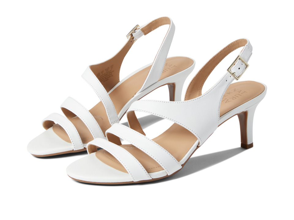 Naturalizer - Taimi (White Leather) High Heels