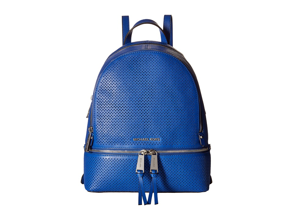 MICHAEL Michael Kors - Rhea Zip Medium Backpack (Electric Blue) Backpack Bags