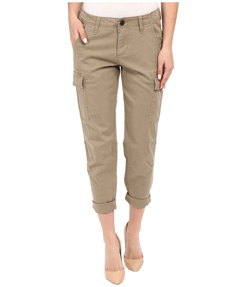 Jag Jeans - Powell Cargo Slim Boyfriend in Bay Twill (Hazelnut) Women's Casual Pants plus size,  plus size fashion plus size appare
