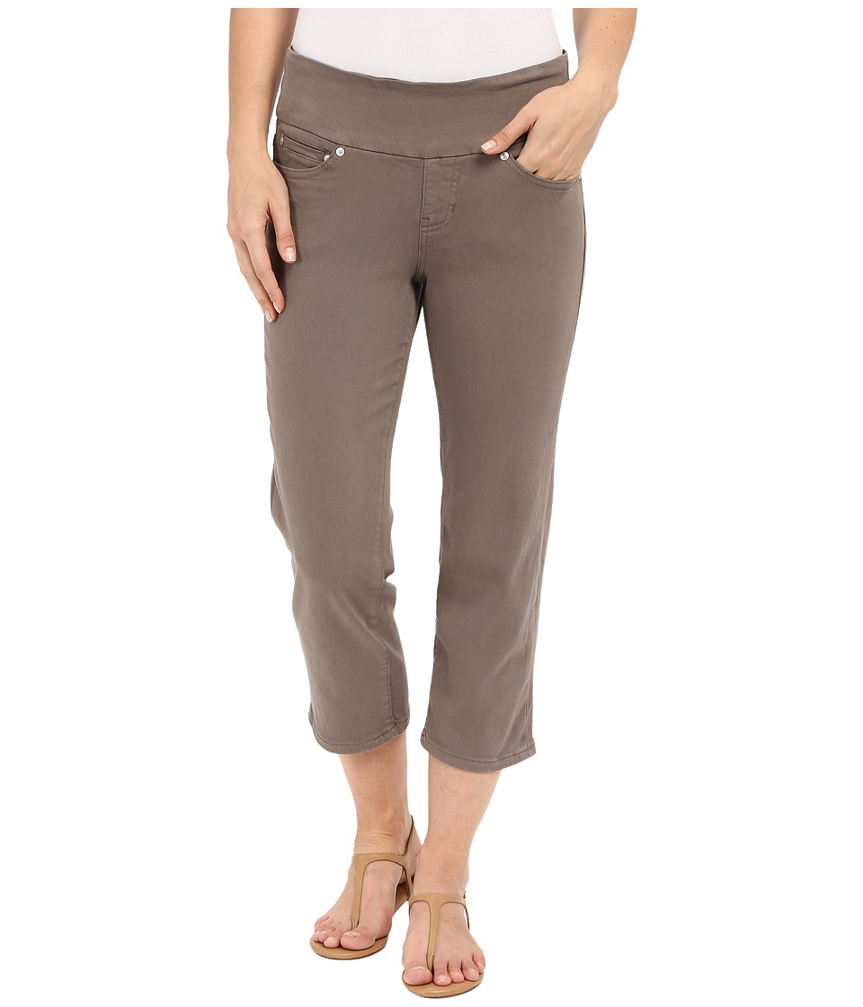 Jag Jeans - Echo Pull-On Classic Fit Crop in Dolce Twill (Fossil) Women's Jeans