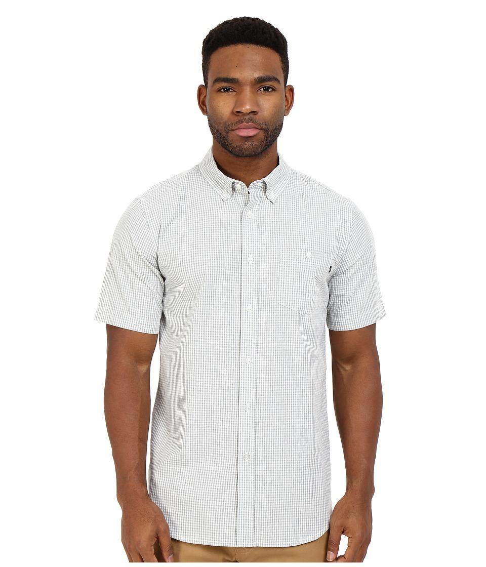 Obey Keene Short Sleeve Woven (Grey Multi) Men