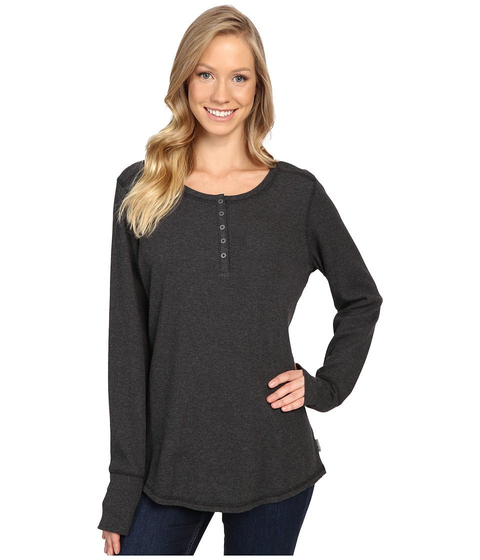 Carhartt - Meadow Henley (Black Heather) Women's Clothing
