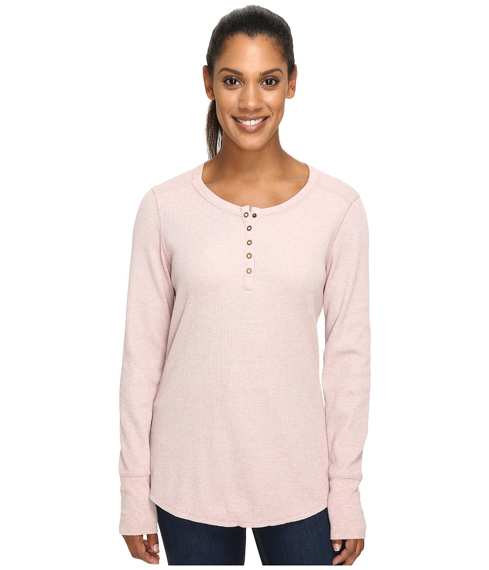 Carhartt - Meadow Henley (Misty Rose Heather) Women's Clothing