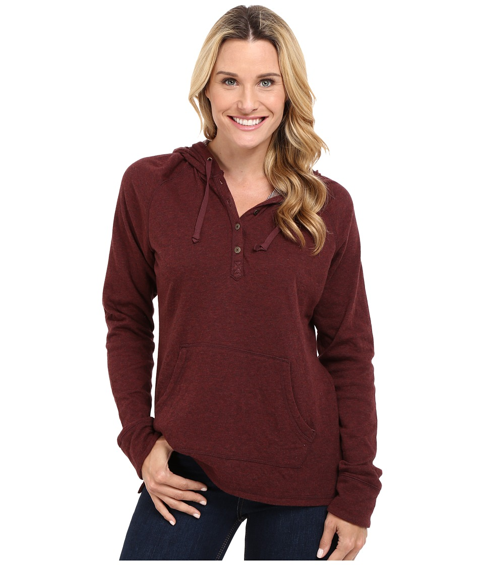 Carhartt - Pondera Shirt (Dark Cedar Heather) Women's Sweatshirt