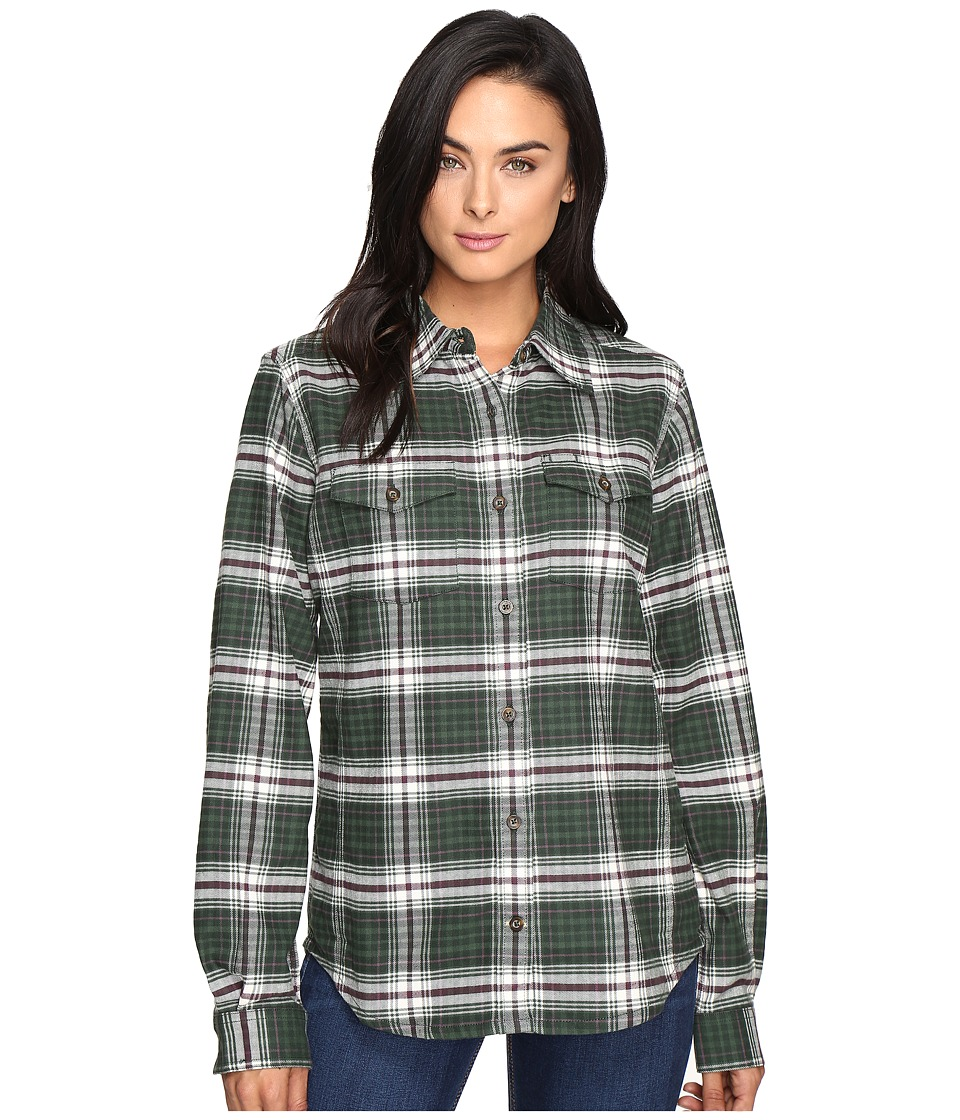 Carhartt - Hamilton Shirt (Deep Pine) Women's Clothing