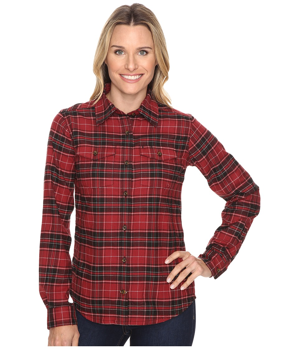 Carhartt - Hamilton Shirt (Dark Red Heather) Women's Clothing