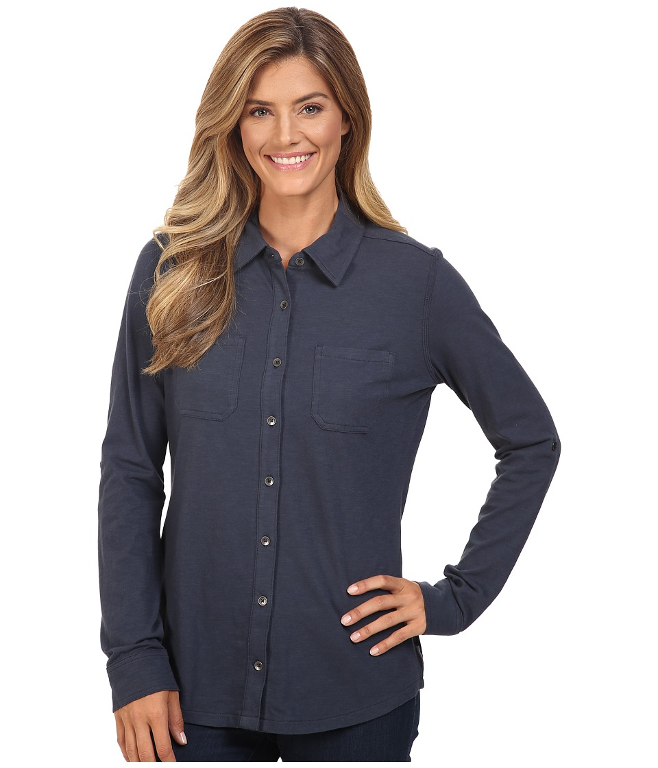 Carhartt - Medina Shirt (Deep Blue) Women's Clothing