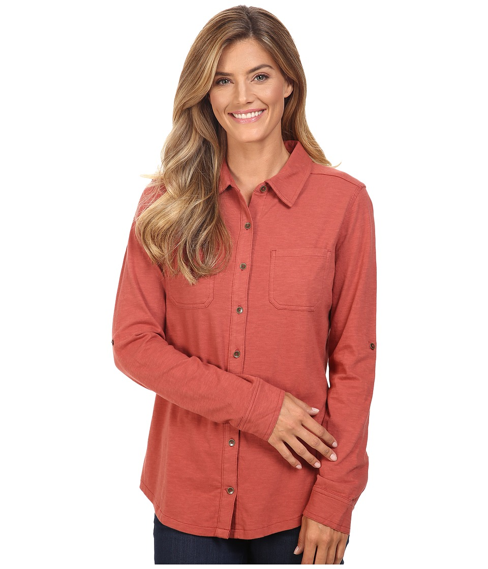 Carhartt - Medina Shirt (Marsala) Women's Clothing