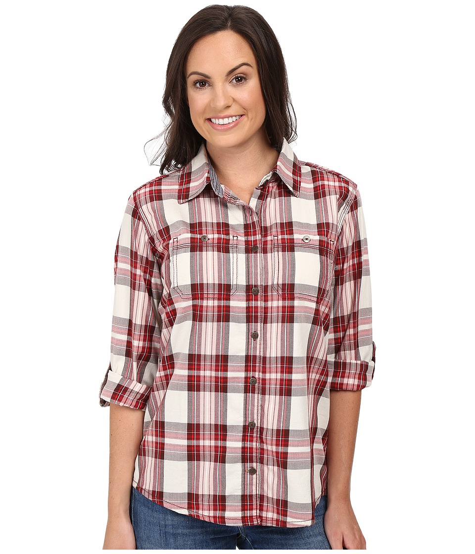 Carhartt - Dodson Shirt (Dark Red) Women's Clothing