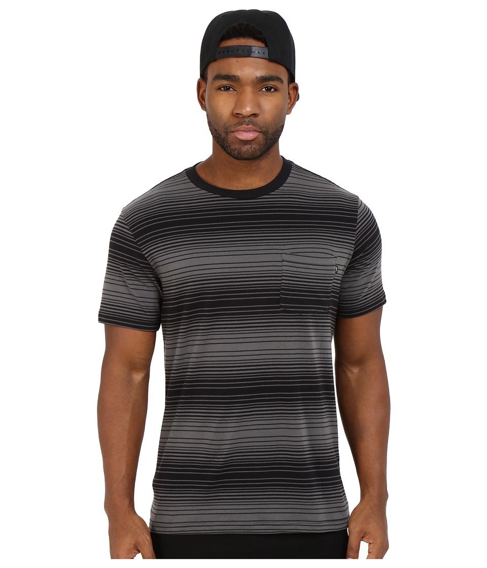 Obey - Ricks Pocket Tee (Brown Multi) Men