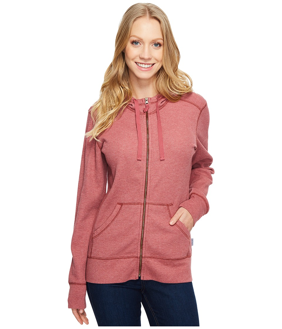 Carhartt Meadow Zip Front Hoodie (Dried Rose Heather) Women