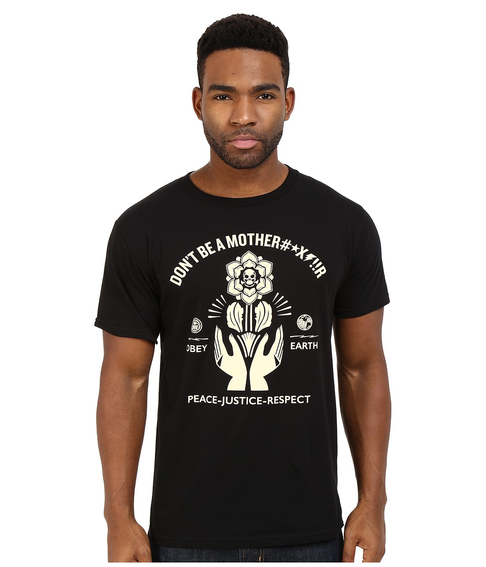 Obey - Premium Motherfr Tee (Black) Men's T Shirt
