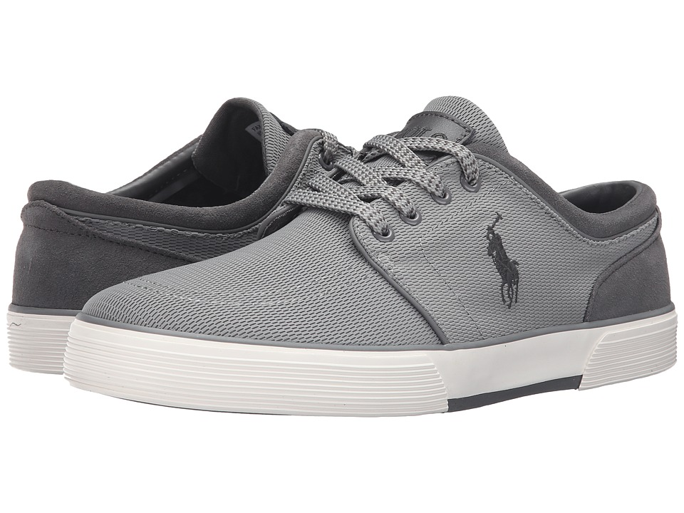 Polo Ralph Lauren Faxon Low (Grey Oval Mesh) Men
