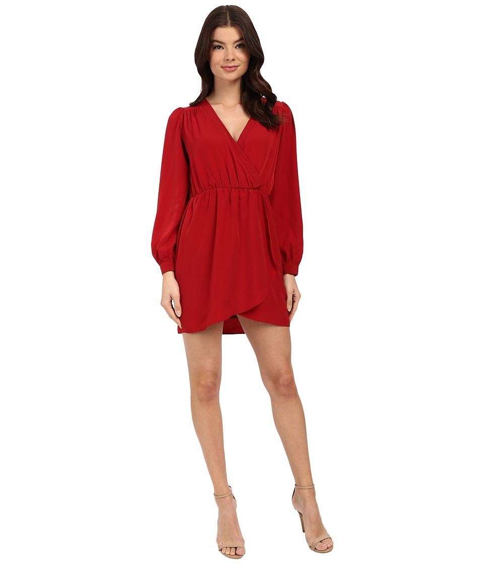 Brigitte Bailey - Demri Dress (Cranberry) Women's Dress