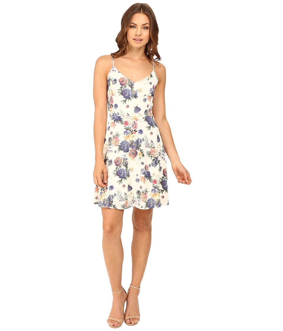 Brigitte Bailey - Benni Sleeveless Floral Dress (Ivory Floral) Women's Dress