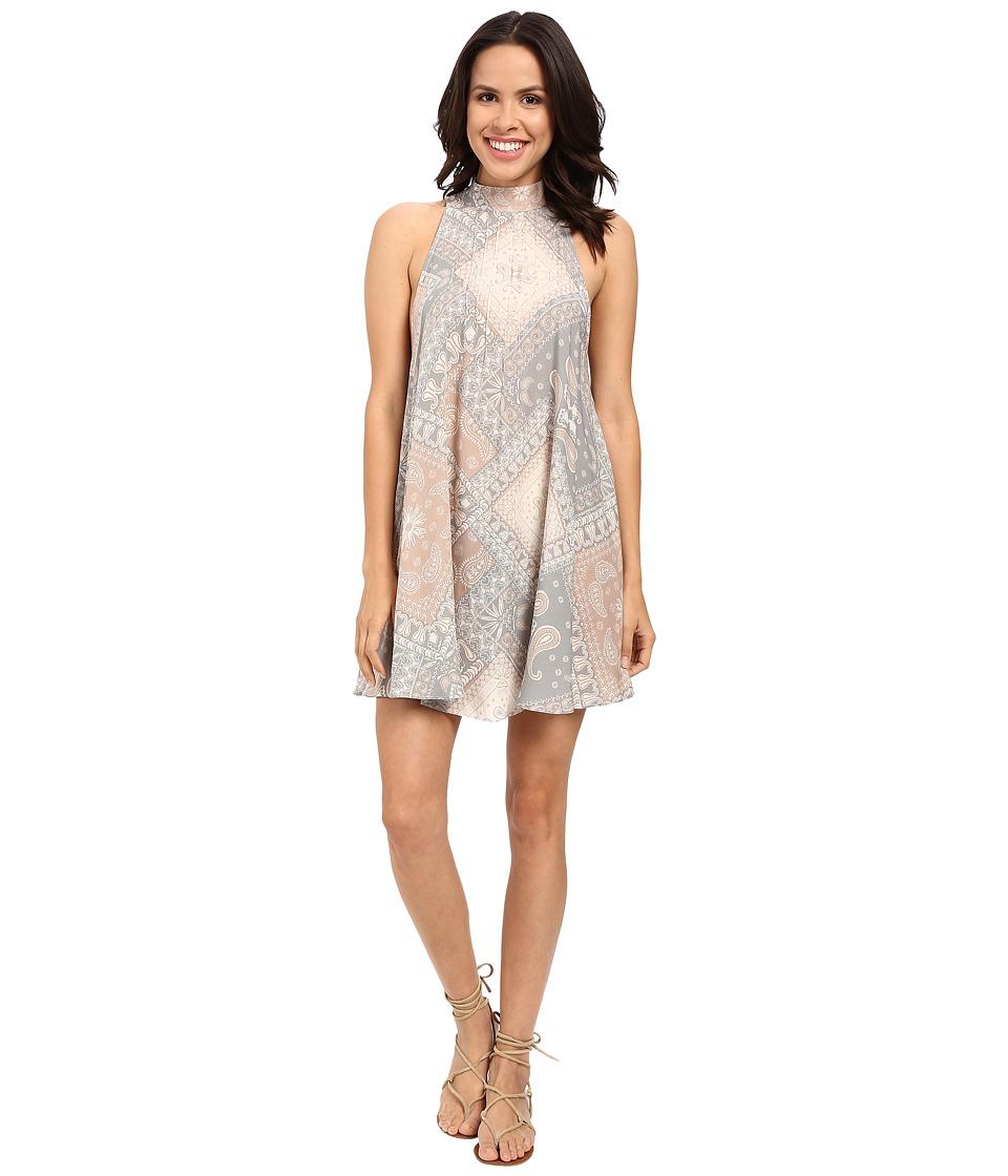 Free People - Beaux Slip (Neutral Combo) Women's Dress