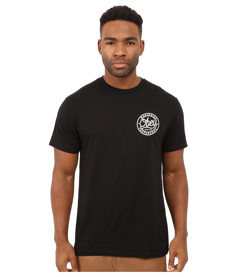 Obey - Since 1989 Premium Tee (Black) Men's T Shirt