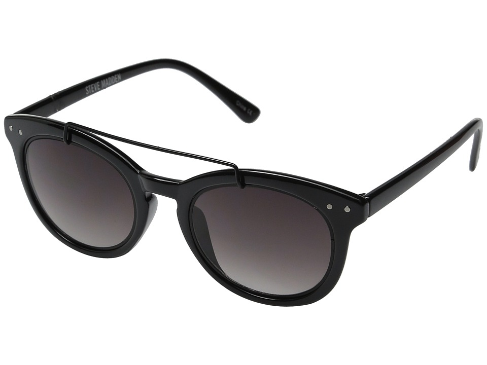 Steve Madden - Scarlett (Black) Fashion Sunglasses