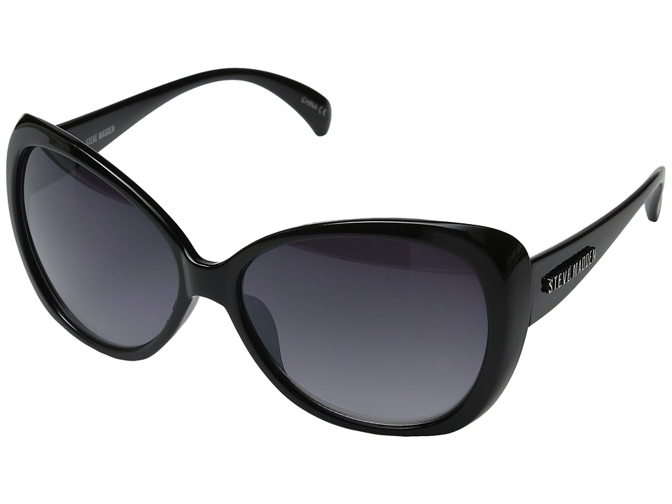 Steve Madden - Amara (Black) Fashion Sunglasses