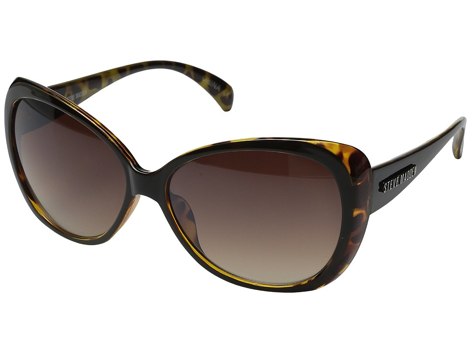 Steve Madden - Amara (Tortoise) Fashion Sunglasses