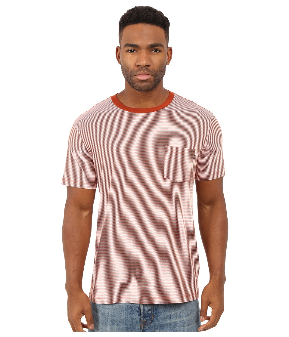 Obey Wisemaker Pocket Tee (Picante) Men