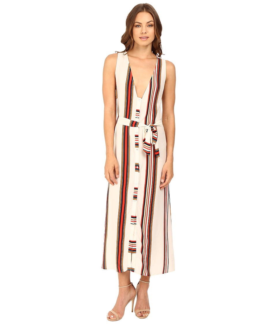 Brigitte Bailey - Panama Maxi Dress (Ivory/Red) Women's Dress
