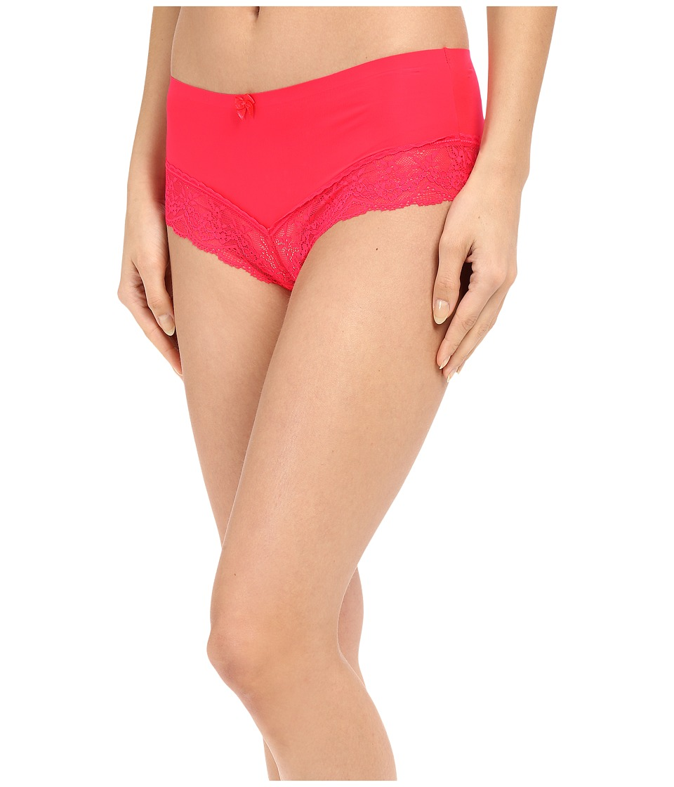 Free People - Smooth French Knicker Boyshorts (Bright Strawberry) Women's Underwear