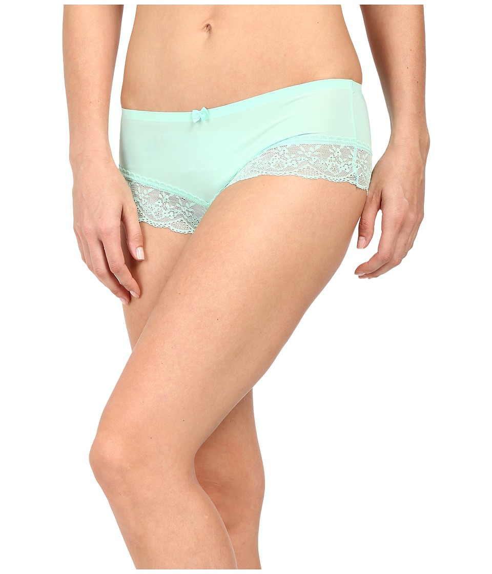 Free People - Smooth French Knicker Boyshorts (Mint) Women's Underwear
