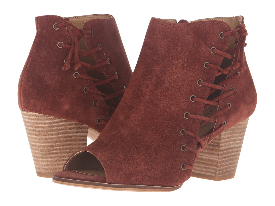 Lucky Brand Hartlee (Russet Oil Suede) Women