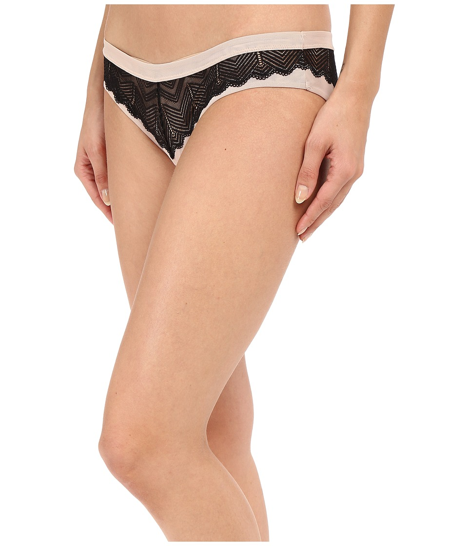 Free People - Heartbeats Undie (Black) Women's Underwear