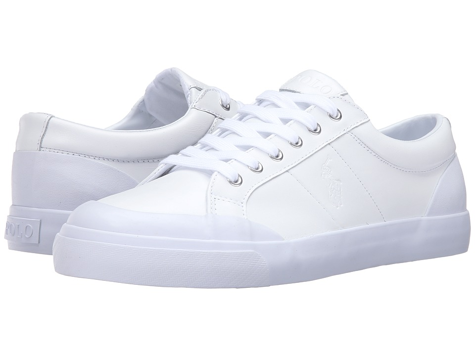 Polo Ralph Lauren Ian (White Smooth Sport Leather) Men
