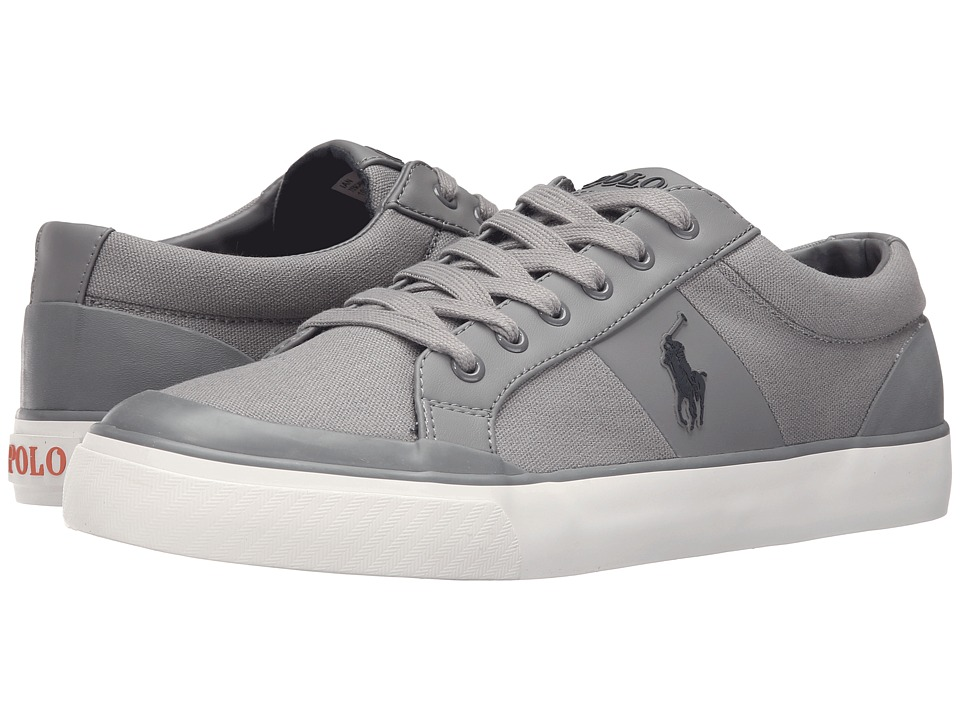 Polo Ralph Lauren - Ian (Basic Grey Canvas) Men's Shoes