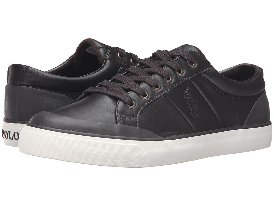 Polo Ralph Lauren Ian (Dark Brown Smooth Sport Leather) Men