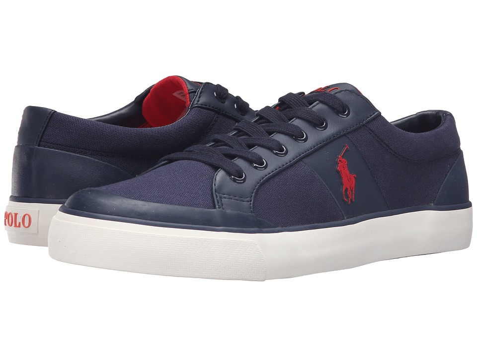 Polo Ralph Lauren - Ian (Newport Navy Canvas) Men's Shoes
